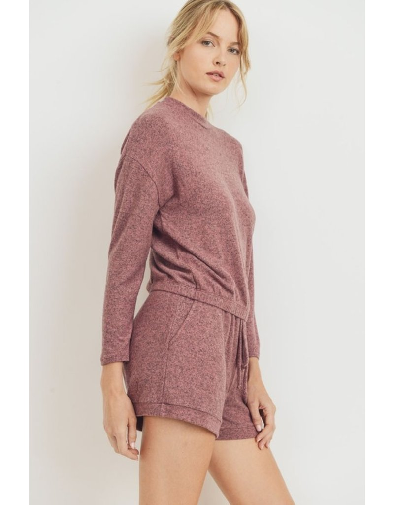 Staycation Cropped Long Sleeve
