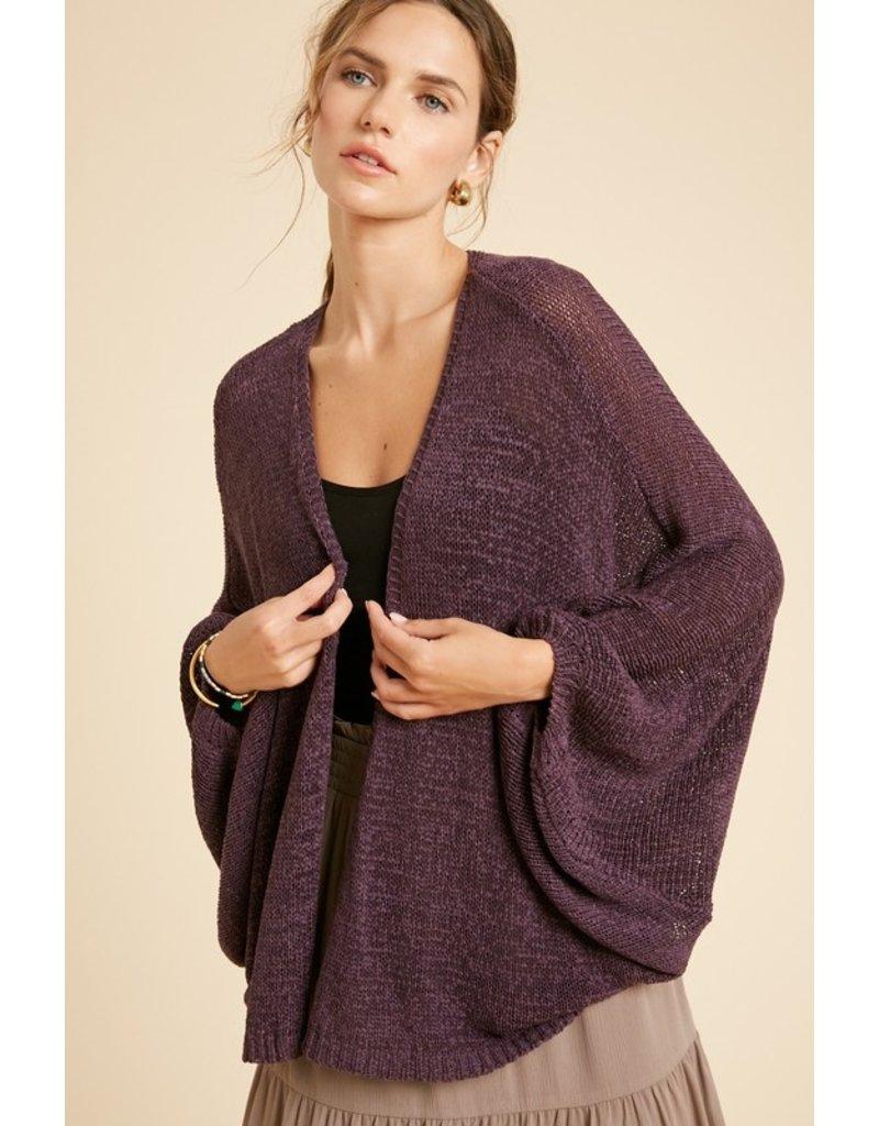 I'm Falling For You Crochet Cardigan