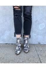 Soda Snake Eyes Ankle Bootie