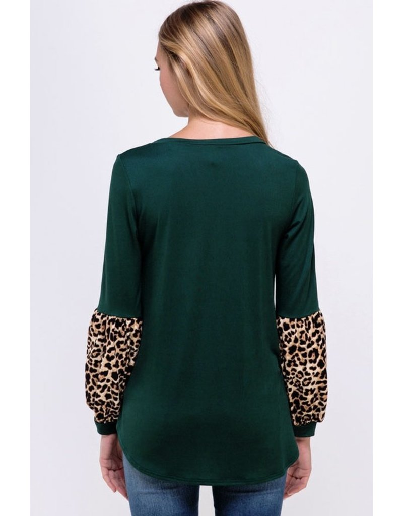 The Make It Yours Leopard Print Top