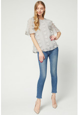 You Know I Adore You Pom Pom Blouse