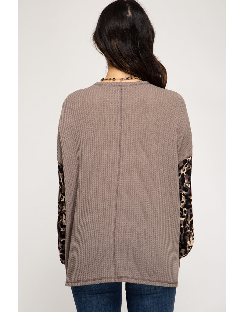 Smooth Talking Thermal Knit Top