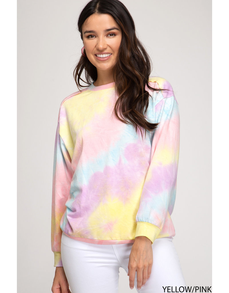 The Light Of My Life Tie Dye Pullover
