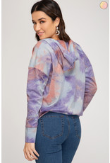 The The Coolest Tie Dye Hoodie