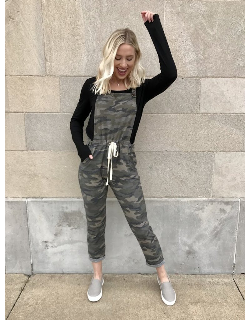 7th Ray Lost In This Moment Camo Overalls