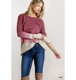 Spark An Interest Ombre Top
