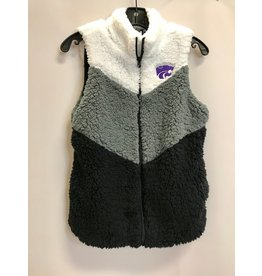 Game Day K-State Wildcats Sherpa Vest