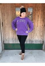 Game Day Collegiate Balloon Sleeve Sweatshirt