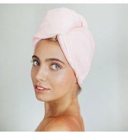Kitsch Microfiber Hair Towel - Blush