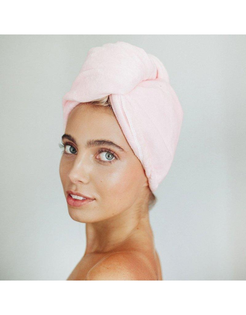 Microfiber Hair Towel - Blush