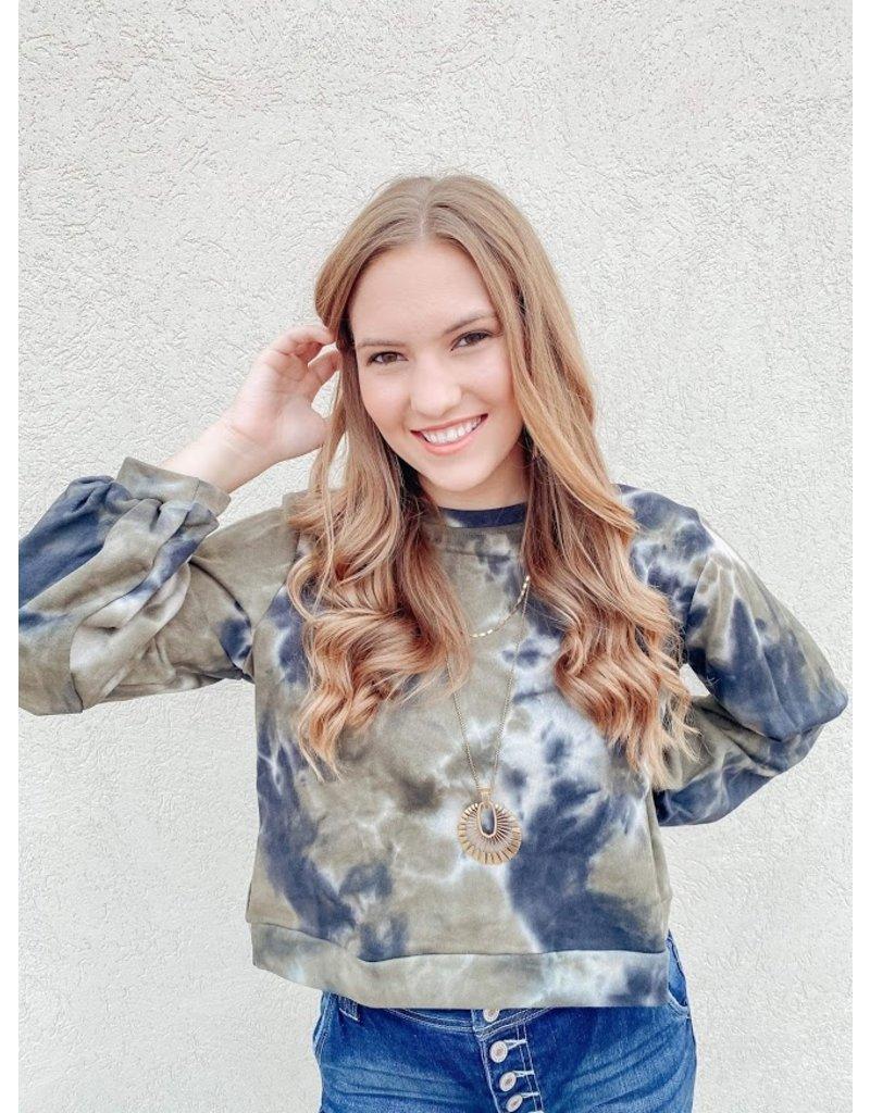 The More Than Words Tie Dye Sweatshirt