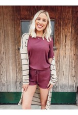 The Easy Days Rib Knit Lounge Set