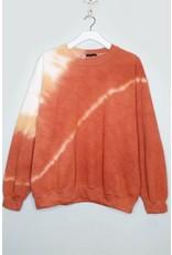 The Spend Eternity With You Tie Dye Sweatshirt - Rust