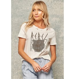 The Rebel Tiger Graphic  Tee
