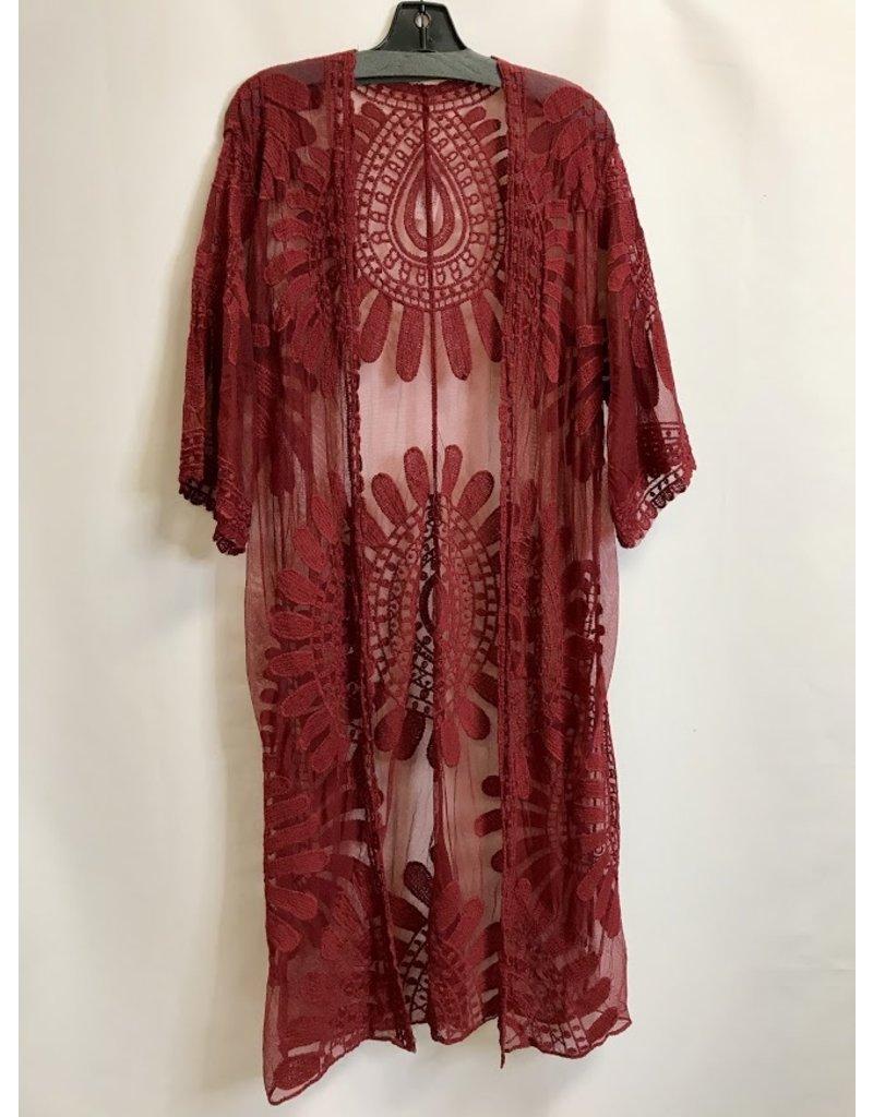 The Bohemian Lace Duster Kimono