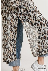 The On The Wild Side Leopard Duster Kimono