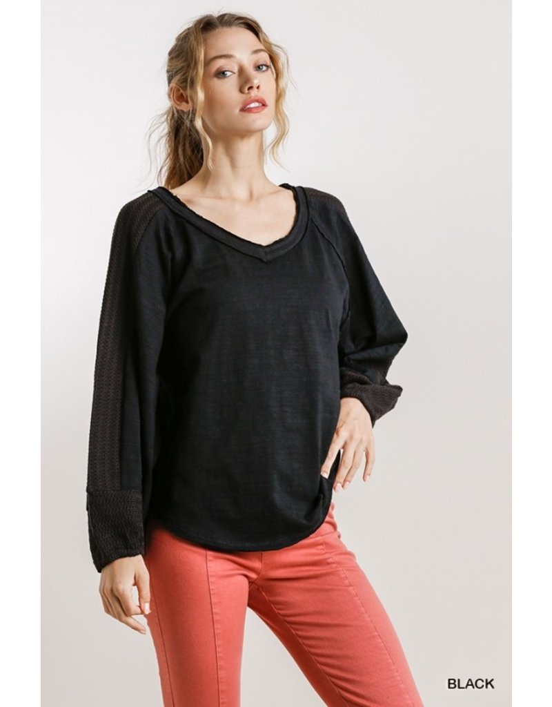 The Sunless Days Puff Sleeve Top