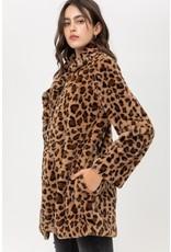 The Upper East Side Leopard Fur Jacket