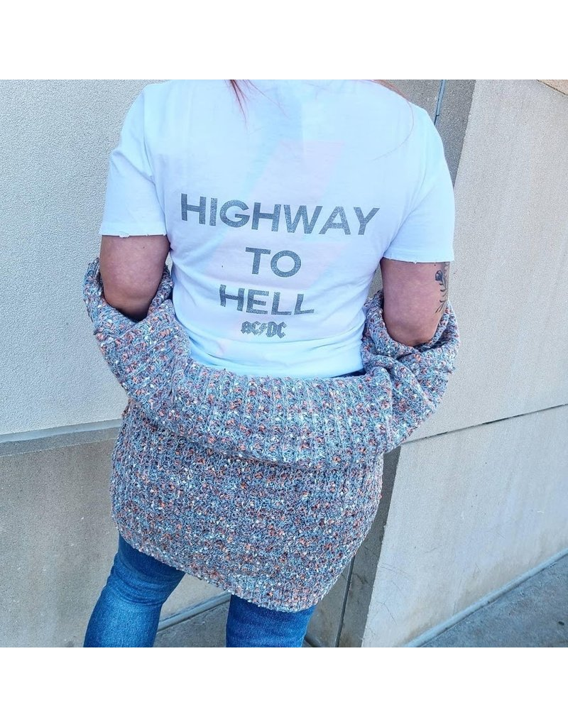 The ACDC Highway to Hell Band Tee