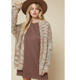 The Encore Speckled Cardigan