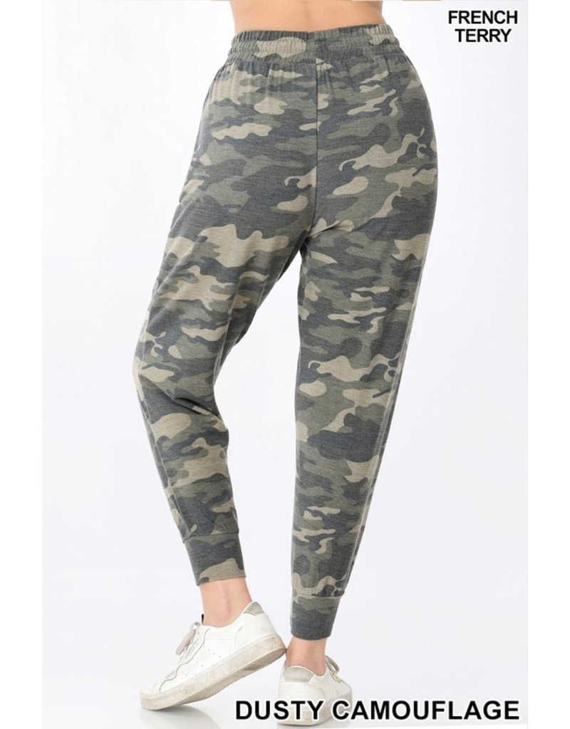 The Weekend Ready Camo French Terry Joggers