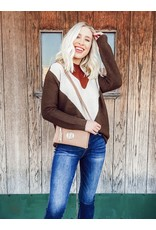 The My Favorite Color Is Fall Color Block Sweater