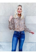 The Once Upon A Time Leopard Print Blouse