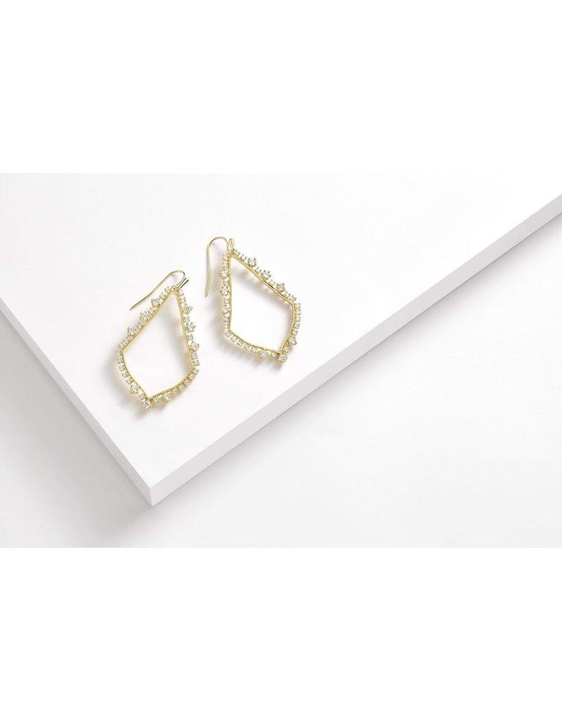 The Sophee Crystal Drop Earrings