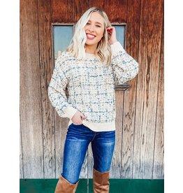 The Waldorf Tweed Sweater
