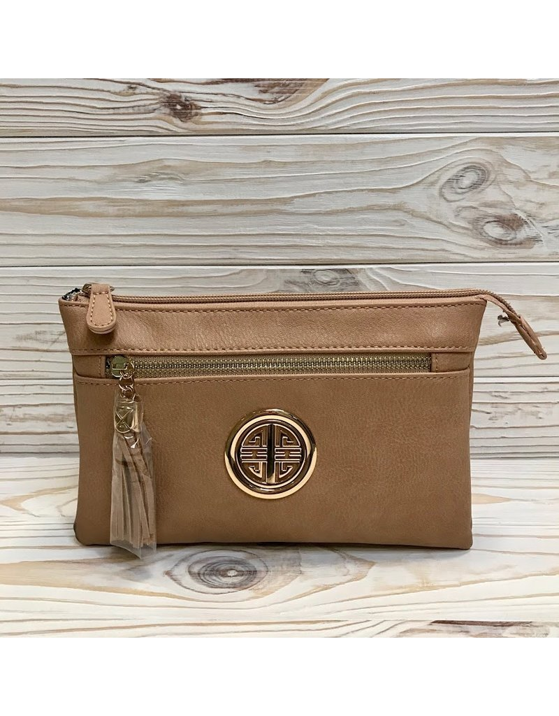 The Need You By My Side Crossbody Purse - Tan