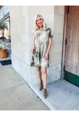 The Ashley Tie Dye T-Shirt Dress