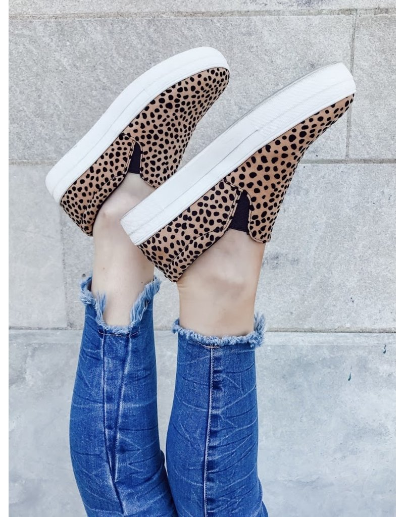 The Spotted Perfection Slip On Sneakers