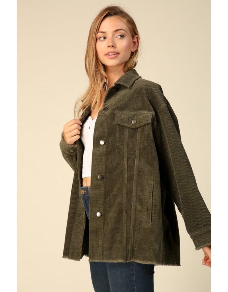 The Self Love Oversized Corduroy Jacket