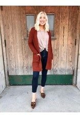 The Fall Feels Pocketed Cardigan