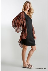 The Meg Bell Sleeve Spotted Kimono