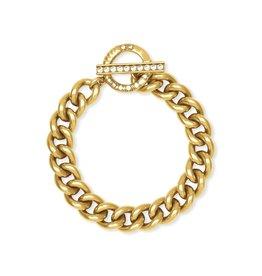 Kendra Scott Whitley Chain Bracelet In Vintage Gold
