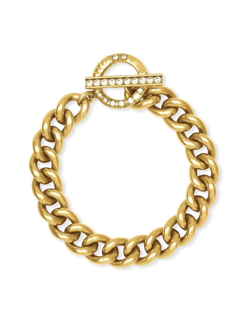 Kendra Scott Whitley Chain Bracelet In Vintage Gold
