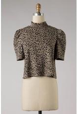 The Top Influencer Leopard Crop Top