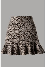 The Top Influencer Leopard Skirt