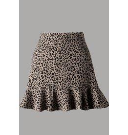 The Top Influencer Leopard Skirt