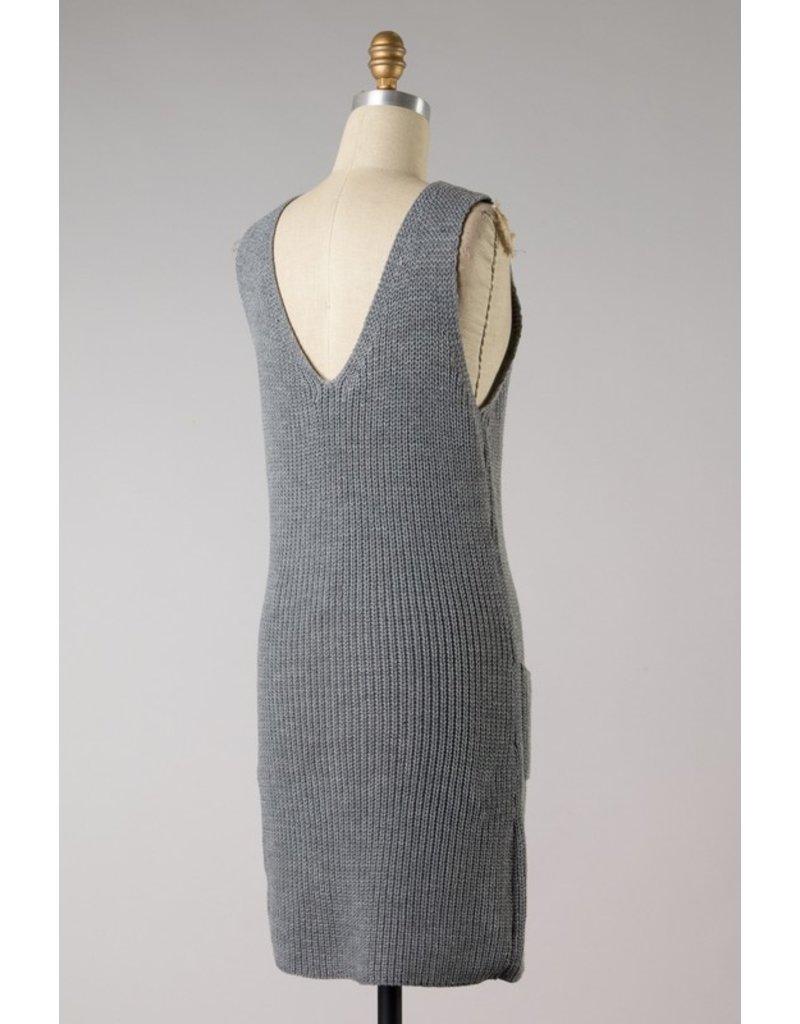 The Carefree Cutie Sweater Dress