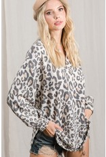 The In Your Best Interest Leopard Top