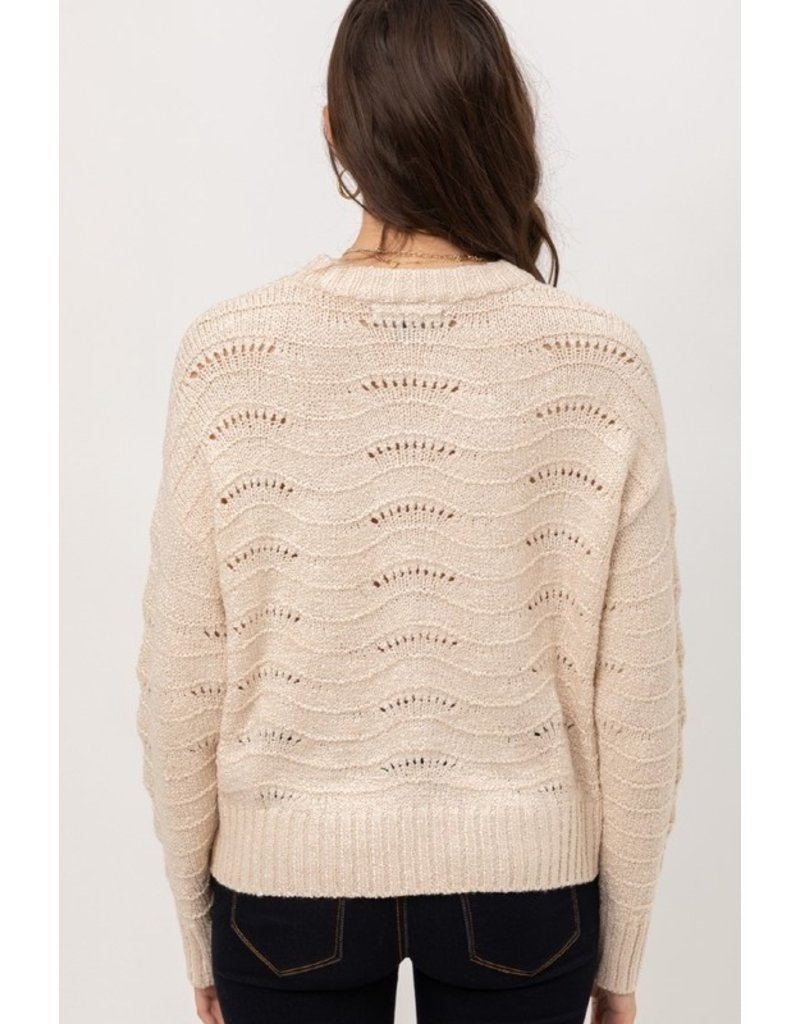 The Sand Dunes Textured Sweater