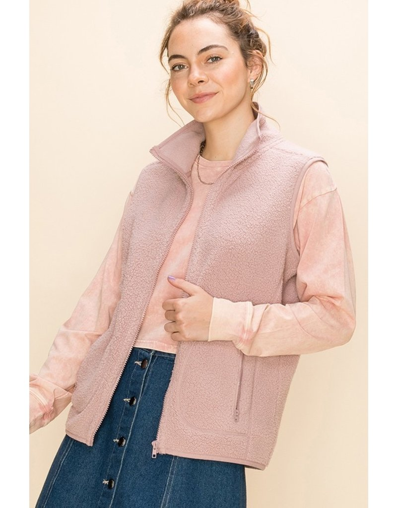 The Happy Days Thin Fleece Vest