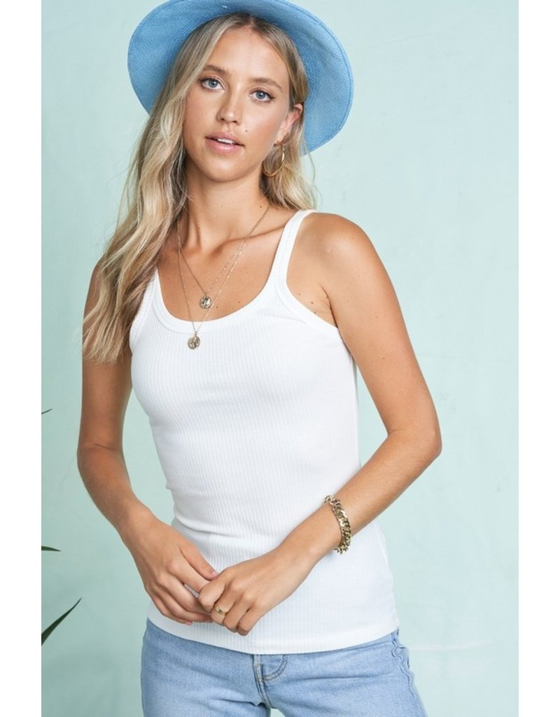 The Cameren Ribbed Tank