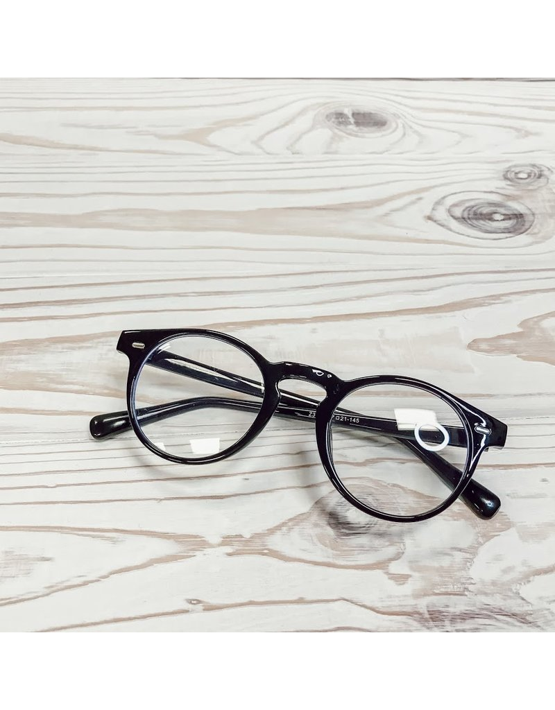 Classic Round Blue Light Glasses