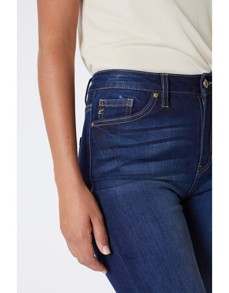 Kancan Dark Wash High Rise Skinny - Curvy