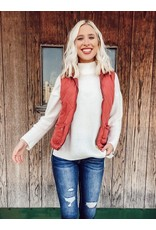 Love Tree Sarah Quilted Vest