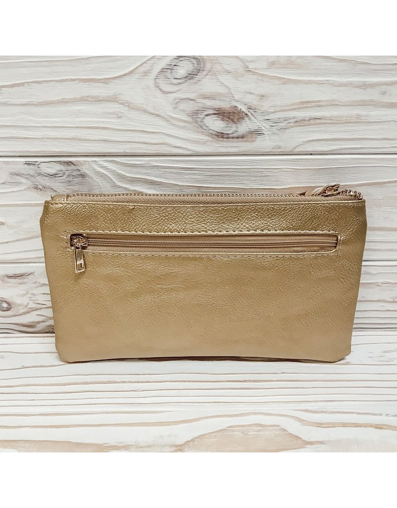 The Timeless Clutch - Gold