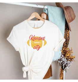 The KC Chiefs Football Graphic Tee